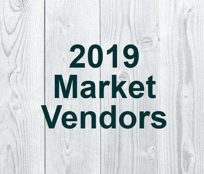 2019 Market Vendors graphic button